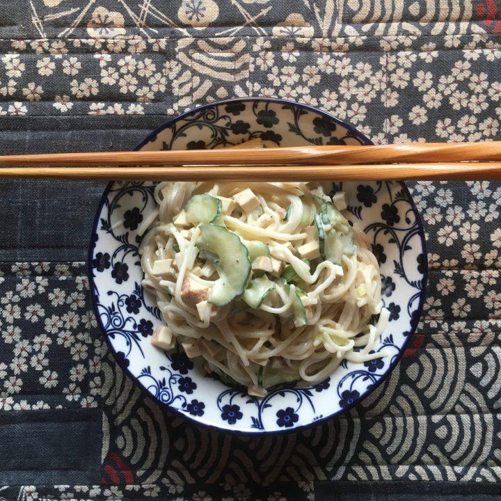 Japanischer Nudelsalat